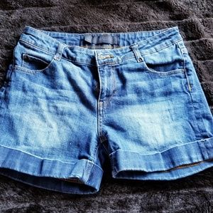 ZARA WOMAN denim shorts